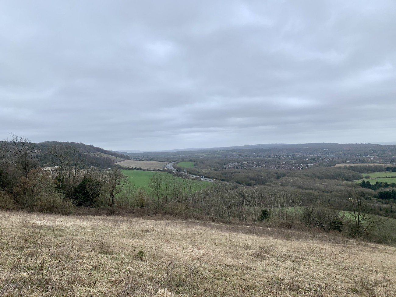 Views from near Woldingham from my now weekly cycle ride